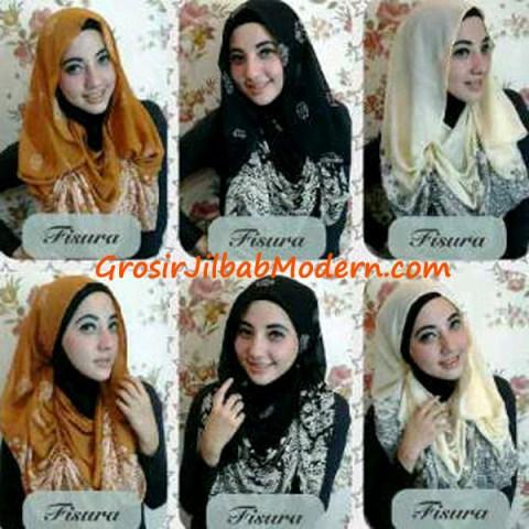 Jilbab Hoodie Ceruti Songket Series