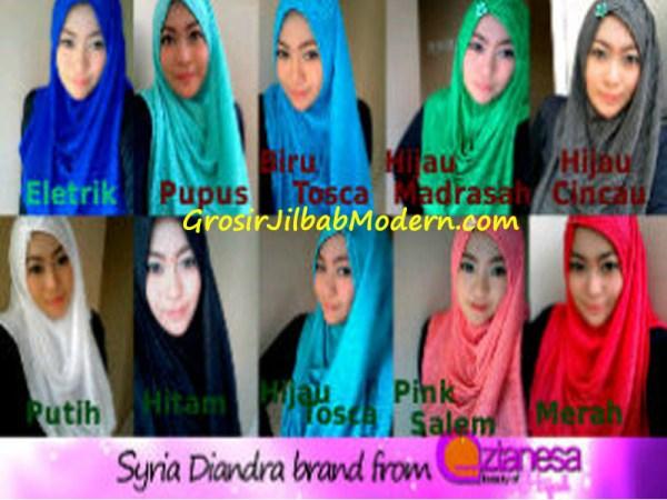Jilbab Syria Diandra Series
