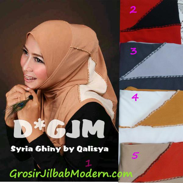 Jilbab Syria Ghinny Series 2
