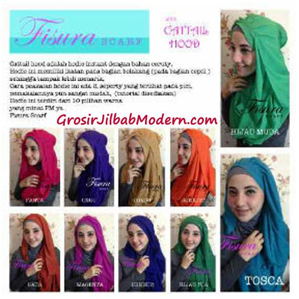 Jilbab Cattail Hoodie Series