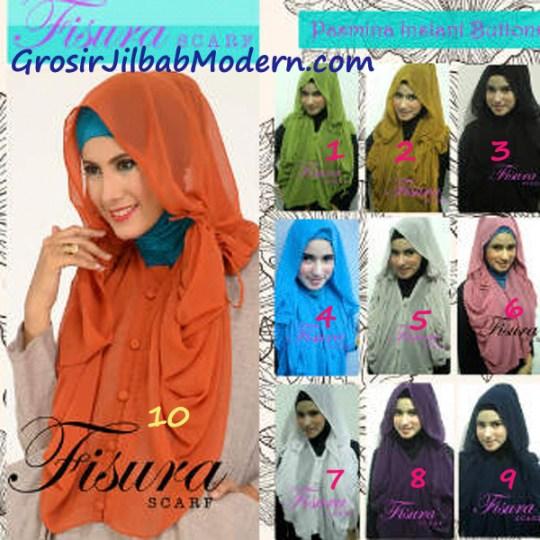 Jilbab Hoodie Instant Button