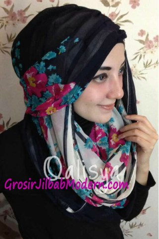 Jilbab Hoodie Danica Lisbeth 2 Toska Pink