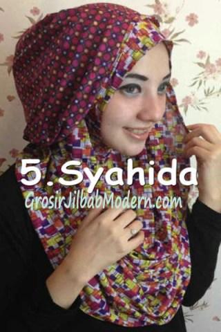 Jilbab Hoodie Ozle Bolak Balik no 5