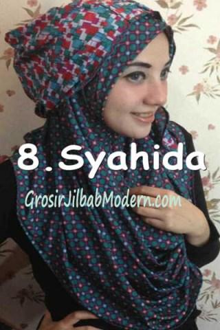 Jilbab Hoodie Ozle Bolak Balik no 8
