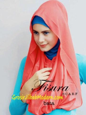 Jilbab Hoodie Rehisya Bata