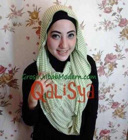 Jilbab Rooney Twist Hoodie Tile No 14