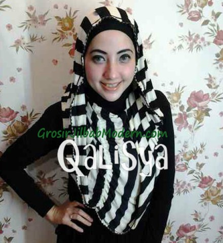Jilbab Rooney Twist Hoodie Tile No 15