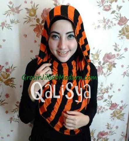 Jilbab Rooney Twist Hoodie Tile No 18
