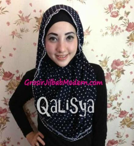 Jilbab Rooney Twist Hoodie Tile No 3
