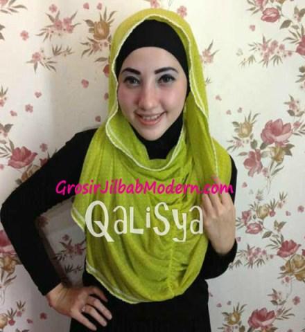 Jilbab Rooney Twist Hoodie Tile No 4