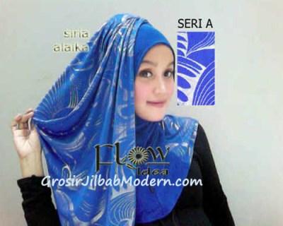 Jilbab Syria Alaika Biru SERI A
