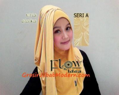 Jilbab Syria Alaika Kuning SERI A