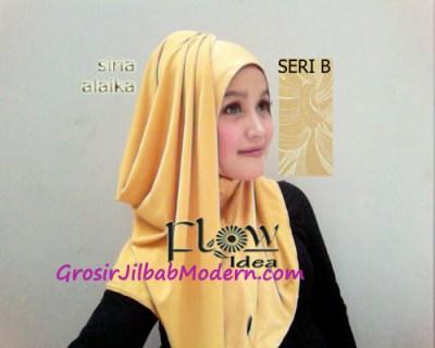 Jilbab Syria Alaika Kuning SERI B