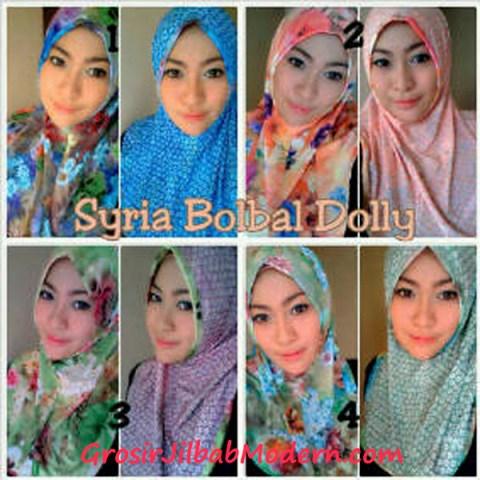 Jilbab Syria Bolbal Dolly Series