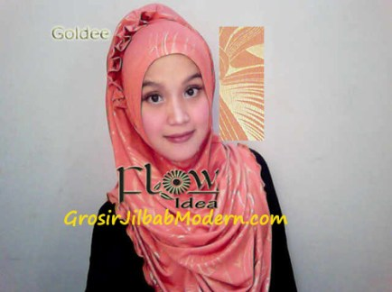Jilbab Syria Goldee Seri 2 Oren
