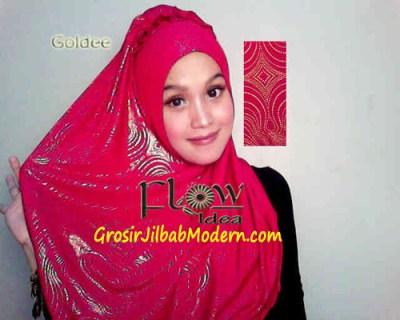 Jilbab Syria Goldee 1 Merah