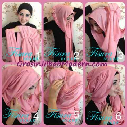 Cara Pakai Jilbab Pocket Hoodie Series