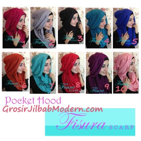 Jilbab Pocket Hoodie Series