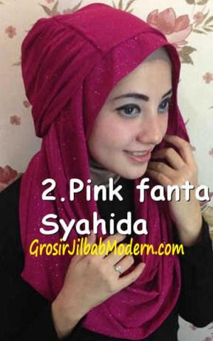 Jilbab Zura Hot Blink Hoodie no 2. Pink Fanta