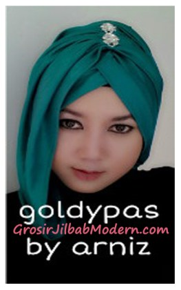 Turban Pashmina Goldypas by Arniz