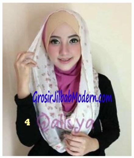 Jilbab Hoodie Instant Ileana No 4