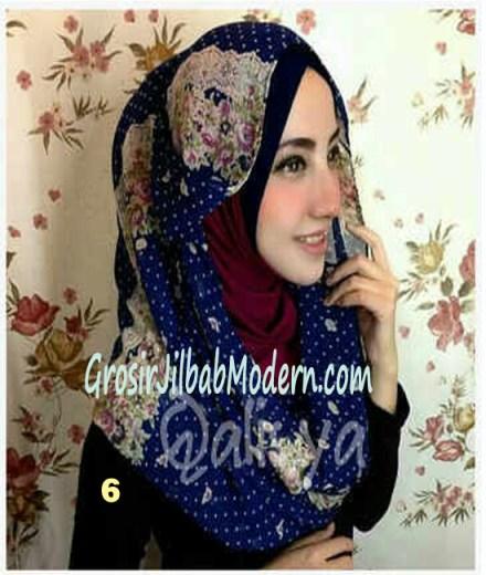 Jilbab Hoodie Instant Ileana No 6