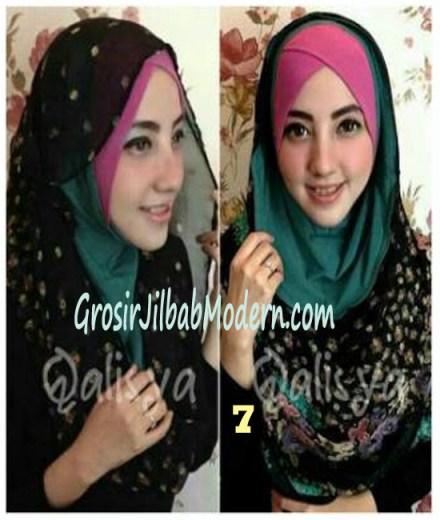 Jilbab Hoodie Instant Ileana No 7