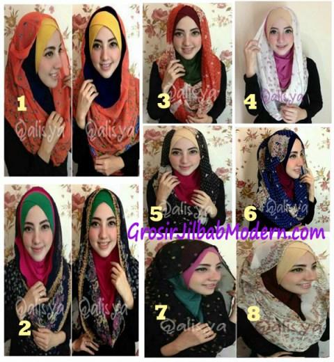 Jilbab Hoodie Instant Ileana Seri
