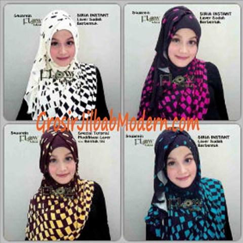 Jilbab Instant Squarein Series