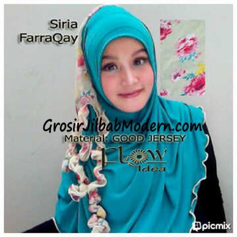 Jilbab Syria FarraQay Toska-Krem