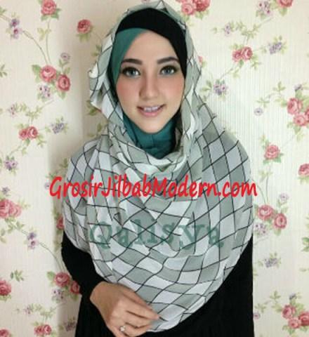 Jilbab Hoodie Instant Ileana Wajik No 3 Hijau Giok