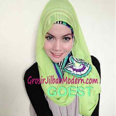 Jilbab Hoodie Instant Mahendra1