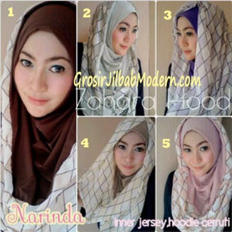 Jilbab Hoodie Instant Zahara Hood Series