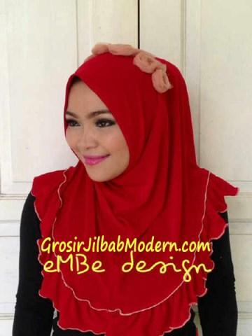 Jilbab Instan Little Queen No 2