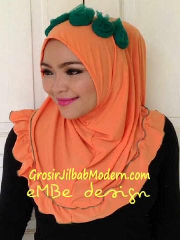 Jilbab Instan Little Queen No 3