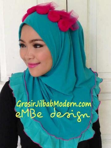 Jilbab Instan Little Queen No10