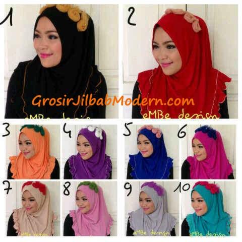 Jilbab Instan Little Queen Series