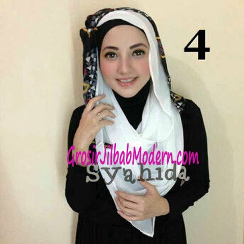 Jilbab Lindy Hoodie No 4