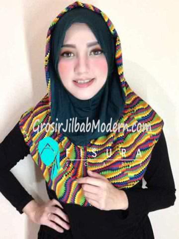 Jilbab Syria Najwa No 1 Hijau