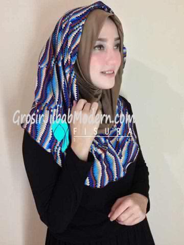 Jilbab Syria Najwa No 10 Moka