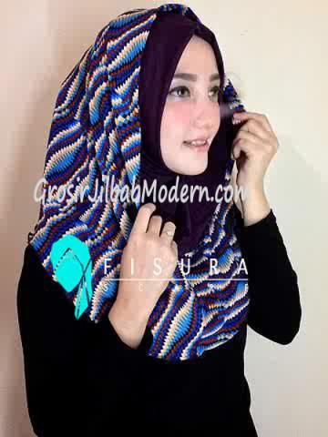 Jilbab Syria Najwa No 2 Dongker