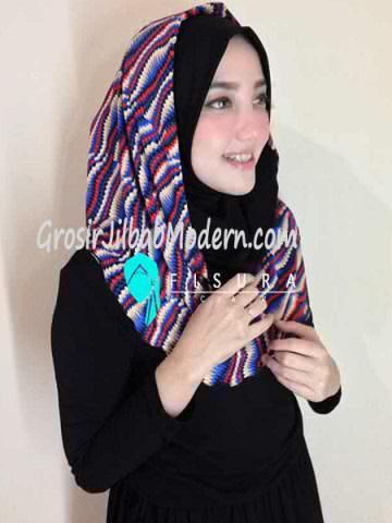 Jilbab Syria Najwa No 4 Hitam