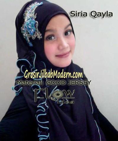 Jilbab Syria Qayla Hitam