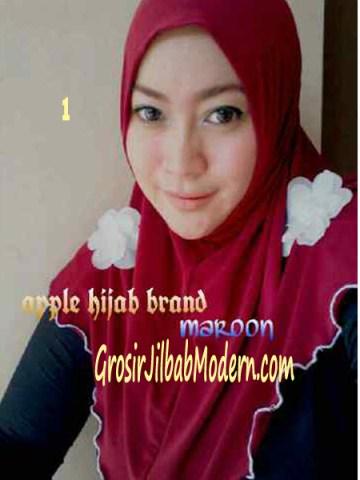 Jilbab Syria Simplity Rose No 1 Marun