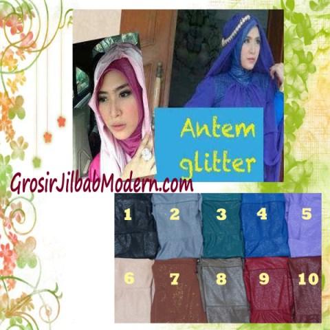 Dalaman Jilbab Anti Tembem Gliter