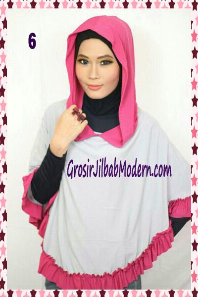 Jilbab Jumbo Capuchon No 6 Abu Muda