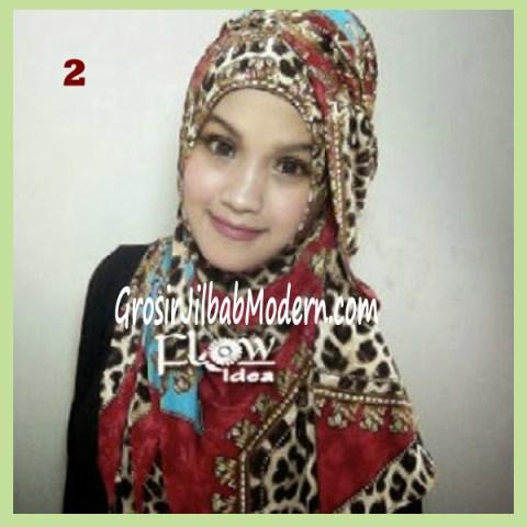 Jilbab Syria Leoqui No 2 Merah