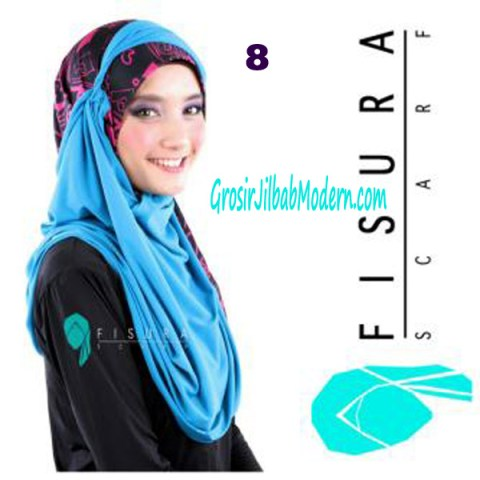 Jilbab Syria Lindsey No 8 Toska