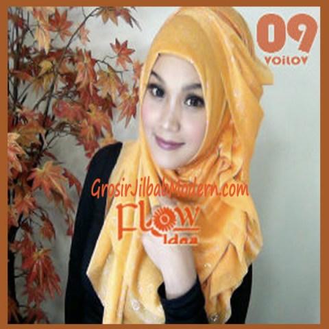 Jilbab Syria Voilov by Flow No 09 Orange