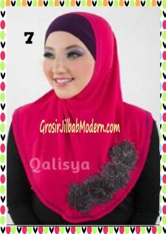 Jilbab Syria Ziyan No 7 Fuchia